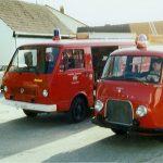 Der alte Ford Transit (vorne) und der Nachfolger VW LT 31