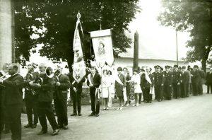 Fahnenweihe 14. Juli 1969 (2)