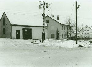 Gerätehaus Gmoastadl - 1976